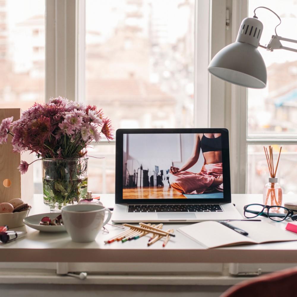 Modern Woman's Business Desk