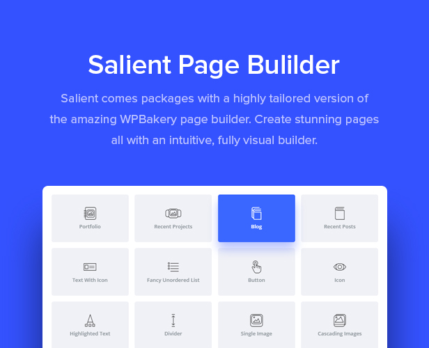 wpbakery page builder  - page builder - Salient – Responsive Multi-Purpose Theme