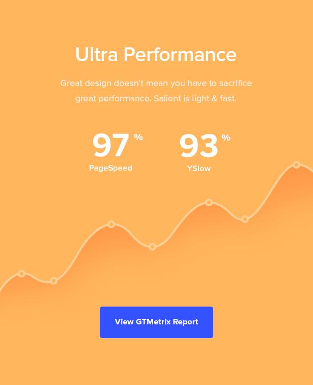 high performance wordpress theme